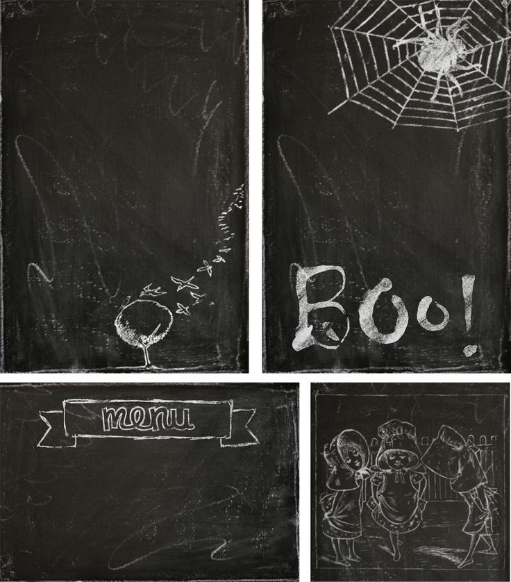 crashnotes: tutorial: using vintage images to create a digital chalkboard effect
