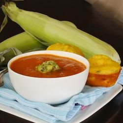 Roasted tomato chipotle soup | I'm Hungry | Pinterest