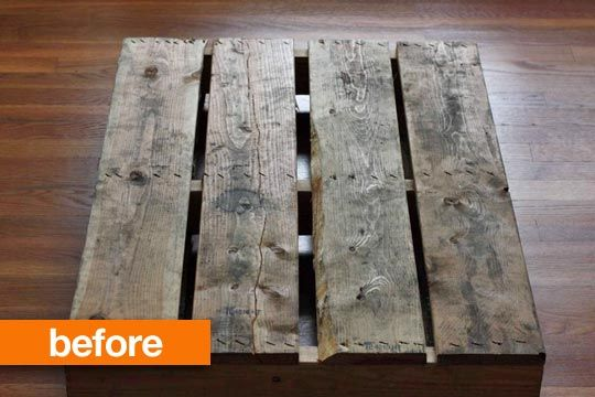 Before & After: Olga Brings Her Passion for Pallets Home Mango & Tomato