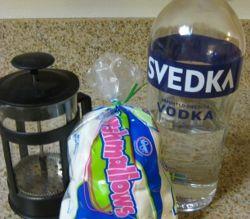 marshmallow vodka! #cocktails #marshmallow vodka