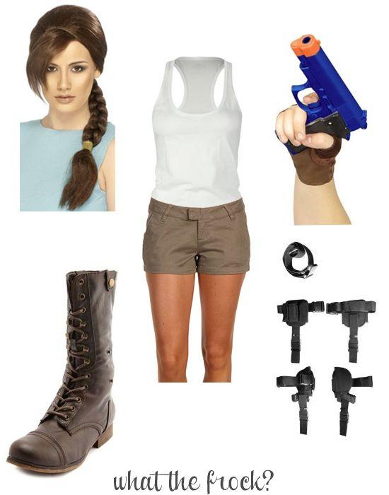 Lara croft halloween costume halloween comic con cosplay pinterest - Tomb raider deguisement ...