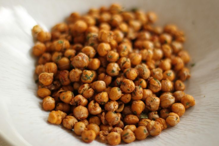 roasted chickpeas | Pop the Bubbly! | Pinterest
