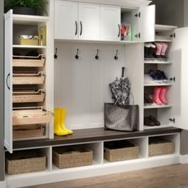 Mobile Home Remodeling Ideas on Modern Home  Mudroom  Cabinet Design Ideas  Pictures  Remodel And