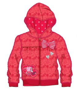 Peppa Pig - Hoodie. Your young Peppa Pig fan will stay warm this