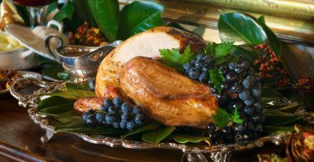 Creole Butter Roasted Turkey. 6 Gulf Coast Thanksgiving Fusion Recipes ...