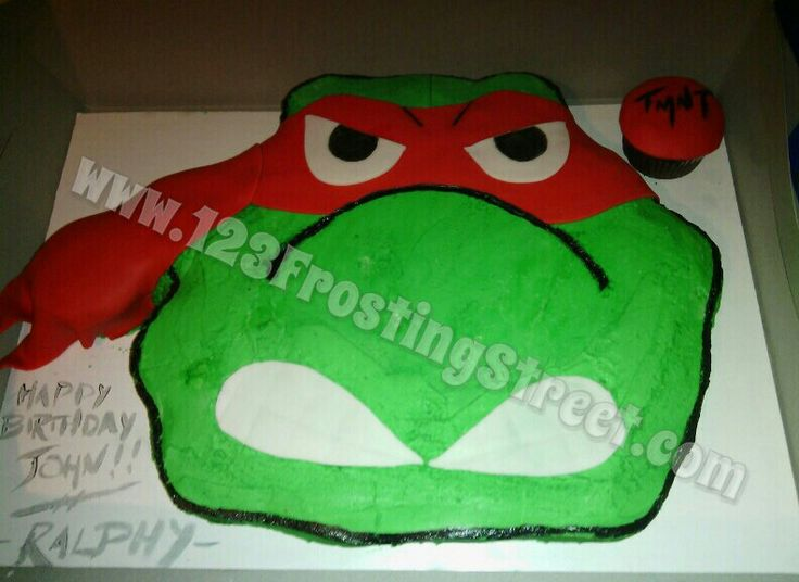 Download image Ninja Turtle Pull Apart Cupcake Cake PC, Android ...