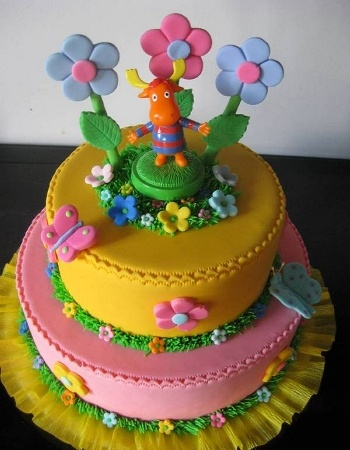 Backyardigans Cake Tyrone