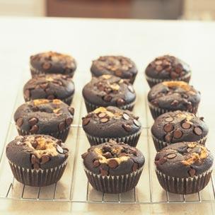 Black Bottom Cupcakes Recipe | food | Pinterest