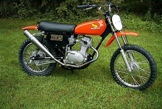 1976 Honda xr75 for sale
