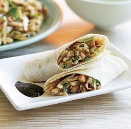 Chinese Pork & Mushroom Wraps - these are great - we skip the egg part ...