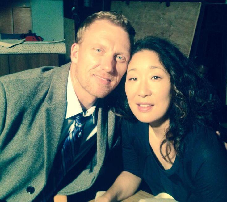 Kevin McKidd and Sandra OhKevin Mckidd And Sandra Oh