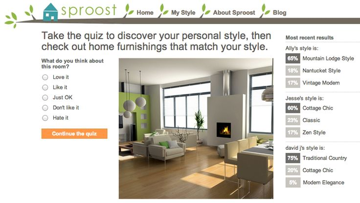 what is your interior design style these 8 quizzes