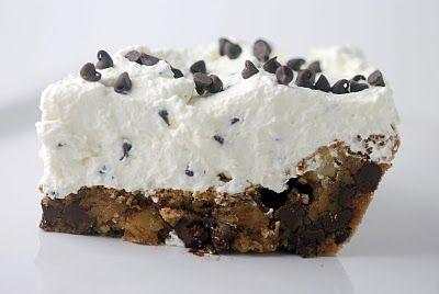 Chocolate Chip Cloud Pie | Life of pies | Pinterest