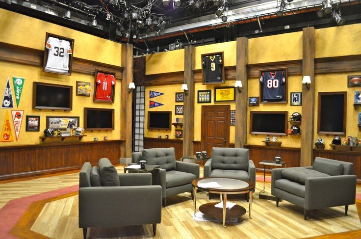 Man Cave Ideas Sports Theme : Sports theme man cave for dream home pinterest