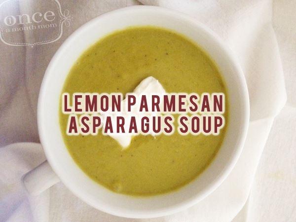 Lemon Parmesan Asparagus Soup | Eat | Pinterest