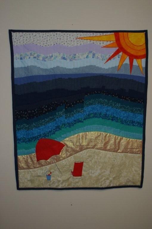 Quilting Patterns Beach Theme : Sisters quilt - beach theme Sewing Fun Pinterest