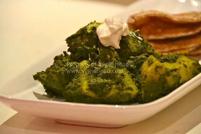 Saag Aloo - vegan | Clean or vegan eating | Pinterest