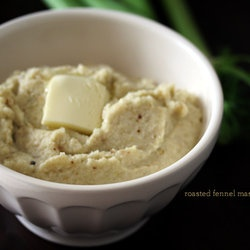 Roasted Fennel Mashed Faux-tatoes | Fall Cooking | Pinterest