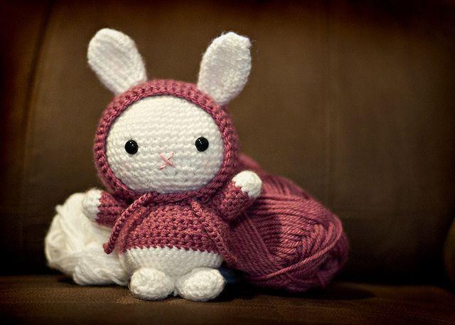 amigurumi bunny crochet toys Pinterest