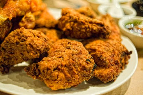 Momofuku Noodle Bar's Fried Chicken Dinner