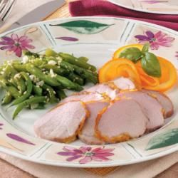 Pork Tenderloin with Orange Marmalade Glaze | Recipe