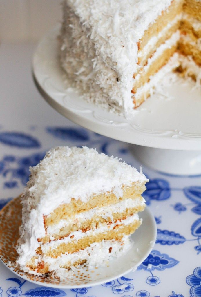 Coconut Cloud Cake | Favorite Recipes | Pinterest