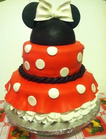 ... los Angeles area) Follow on instagram: @cakes_by_rowena Minnie Mouse