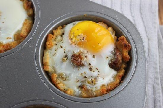 Egg nests | Breakfast | Pinterest