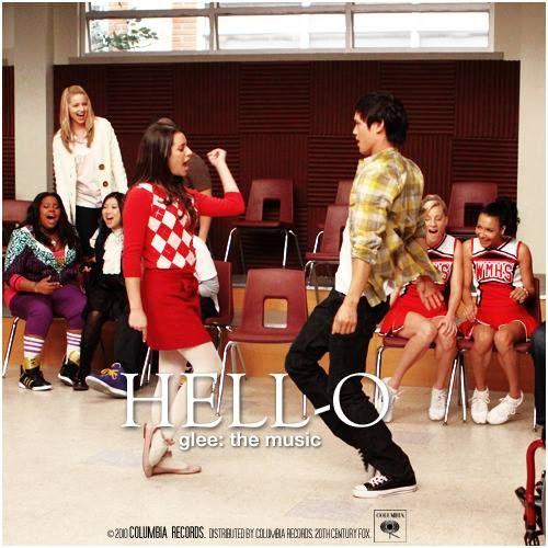 Glee hello episode