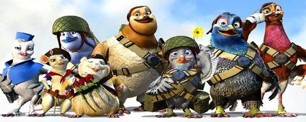 Cartoon Characters 2005 : Valiant cartoon characters birds pinterest