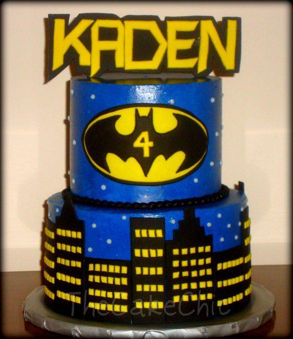 Cake Decorating Batman Cake Ideas : Batman Cake Cake Ideas Pinterest