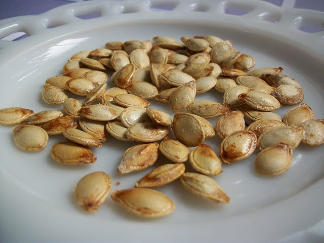 Roasted Spaghetti Squash Seeds | Recipins - To Try | Pinterest