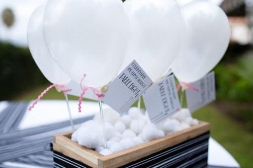 Balloon Centrepieces  Sarahs Wedding  Pinterest