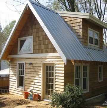 500 Sq Ft Straw Bale Cottage Small Cabins Pinterest