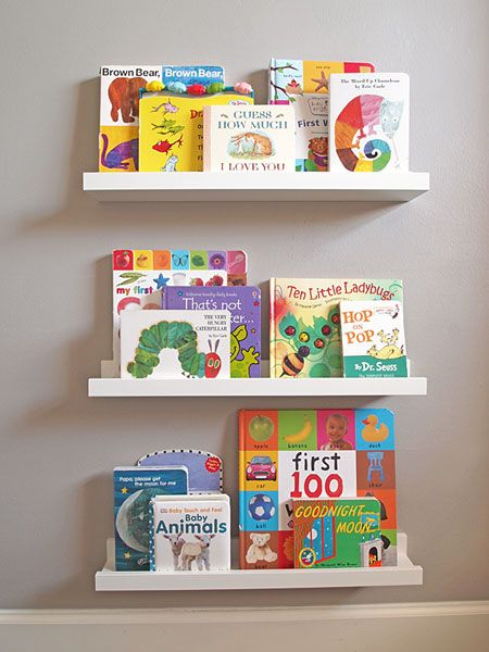 ikea picture ledges for books emme nursery pinterest