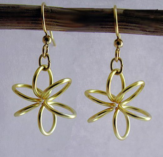 wire earrings tutorial diy earrings