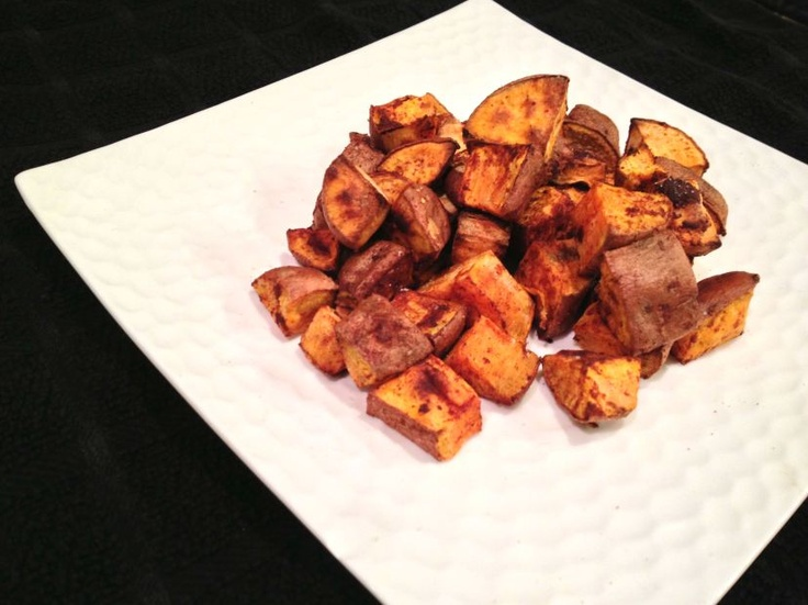 Cinnamon Roasted Sweet Potatoes} | Be Stitched Blog | Pinterest