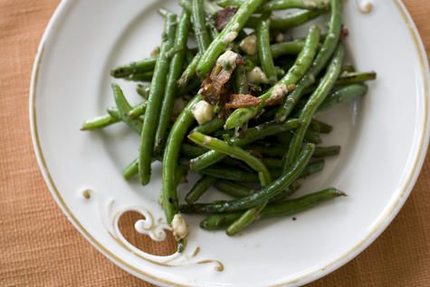 ... or Green Beans with Bacon and Blue Cheese Topping. | Planit Northwest