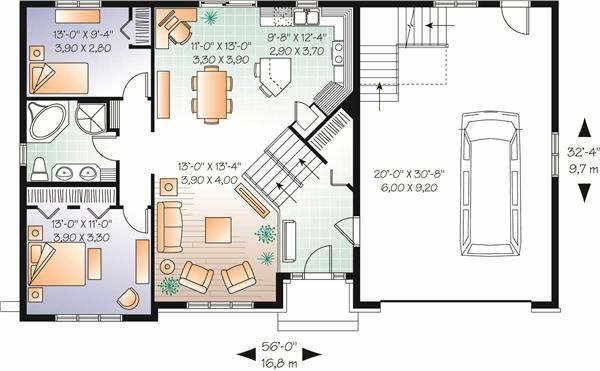 Pin by home decorating ideas on amazing split level floor Bi level house plans with garage