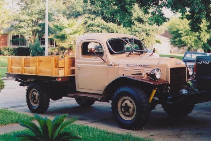 Dodge Power Wagon Flatbed Chrysler Jeep Dodge Ram