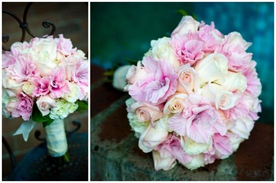Pink Wedding Bouquet Gladiolus Gladiolas Glads
