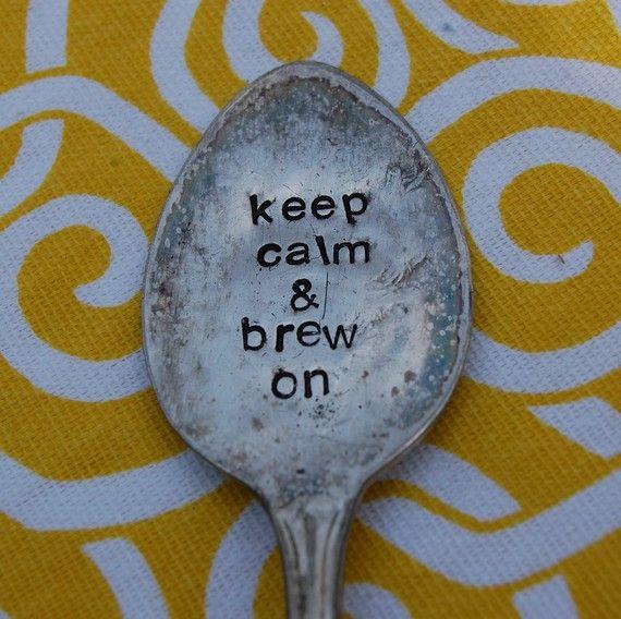 Keep Calm & Brew On #tea
