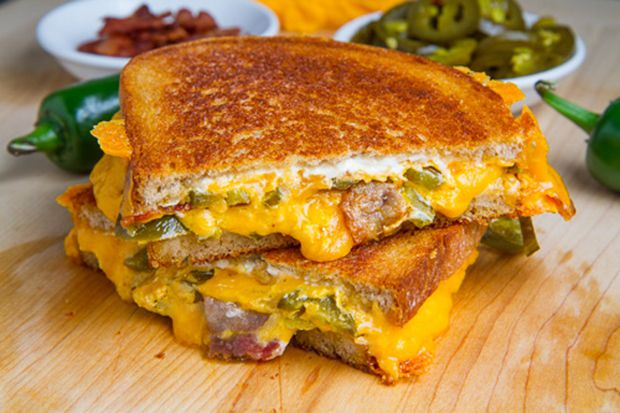 Jalapeno Popper Grilled Cheese Sandwich!!!! National Grilled Cheese ...
