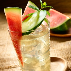 Watermelon-Cucumber Refresher | Recipe Box | Pinterest