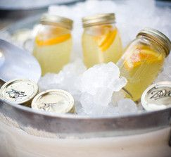 Serve lemonade in Mason or canning jars