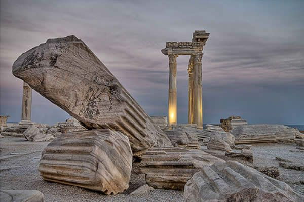 Apollo Ruins, Greece