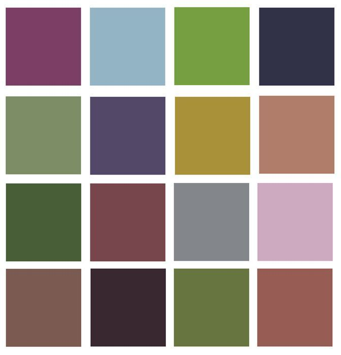 Type 4 Dressing Your Truth Color Chart - Dressing Your Truth Type 4 Hairstyles