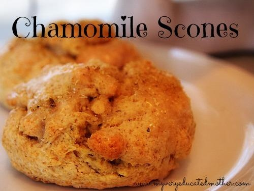 From the Garden: Chamomile Scones | Food and Drink | Pinterest