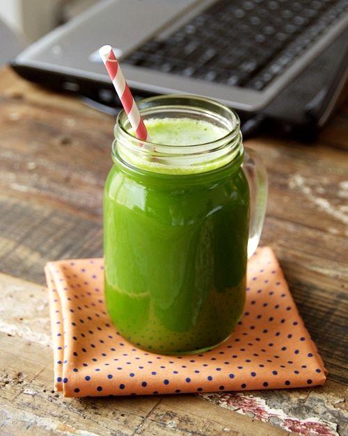 juicer-free green juice