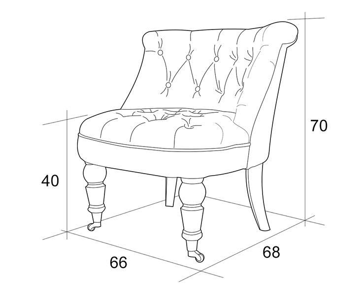 Английское кресло с ушами своими руками с размерами 18